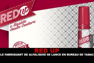 RED-UP:Alfaliquid的制造商开办烟草店!