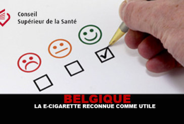 בלגיה: המועצה הגבוהה לבריאות מזהה את הסיגריה האלקטרוני שימושי!