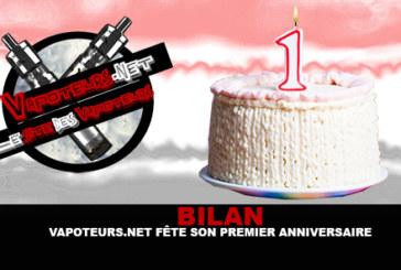 RECENSIONE: Vapoteurs.net festeggia il suo primo compleanno!