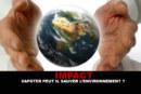 IMPACT: יכול Vapoter להציל את הסביבה?