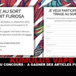 KUMULUS VAPE: Конкурс - Чтобы выиграть статьи «Фуриоса»