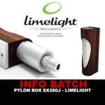 BATCH INFO: Pylon Box Sx350J (Limelight)