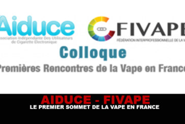 AIDUCE - FIVAPE: The first summit of the vape in France!