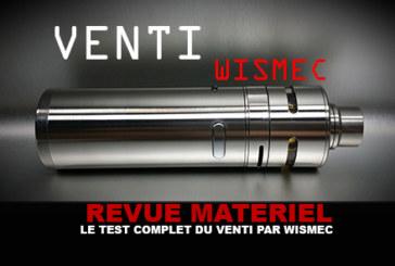 RECENSIONE: The Complete Venti Test (Wismec)
