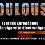 VIDEO: Ritorno al giorno della sigaretta elettronica (Toulouse)
