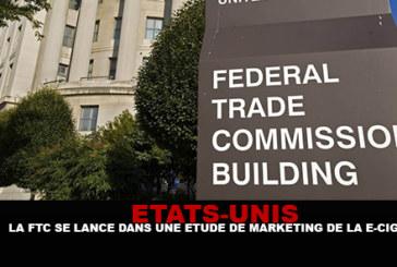 USA : La FTC se lance dans une étude de marketing de la e-cigarette.