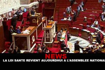 NEWS: La legge sulla salute torna ora all'Assemblea nazionale.