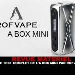 """סקירה: המבחן המלא של ערכת """"A BOX MINI"""" על ידי Rofvape"""