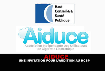 AIDUCE : Une invitation pour l'audition au Haut Conseil de Santé Publique !