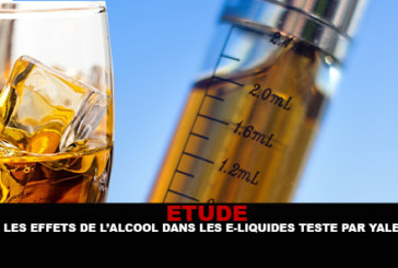 STUDY: The effects of alcohol in e-liquids tested by Yale.