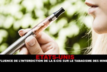 USA: l'influenza del divieto di sigaretta elettronica sul fumo minorile.