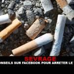 DESTETE: consejos sobre facebook para dejar de fumar!