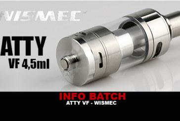 INFO BATCH : VF Atty 4,5ml (Wismec)