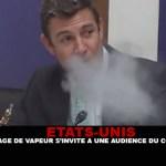 USA: una nuvola di vapore si rivolge a un pubblico di congressi!