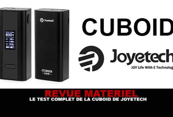 REVUE : Le test complet de la box Cuboid (Joyetech)