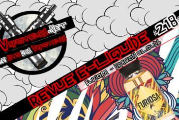 Recensione di E-Liquid #218 - FURIOSA - DRAGON CLOUDS (FR)
