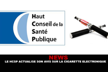 NEWS: Das HCSP aktualisiert seine Meinung zur elektronischen Zigarette.