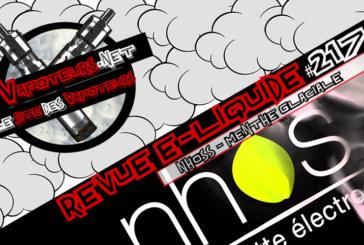 Recensione E-Liquid #217 - NHOSS - GLACIAL MINT