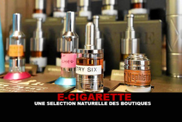 E-CIGARETTE : Une sélection naturelle des boutiques.