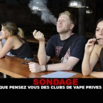 ENQUVETE: Wat vind je van private vape clubs?