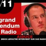 AIDUCE : Brice Lepoutre intervient sur SudRadio.