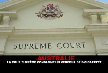 AUSTRALIA: Supreme Court sentences e-cigarette vendor