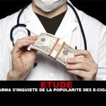 STUDIO: Big Pharma è preoccupato per la popolarità delle e-sigarette.