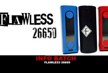 INFORMAZIONI SUL MODELLO: Mod Flawless 26650