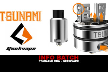 INFORMAZIONI SUL LOTTO: Tsunami Rda (Geekvape)