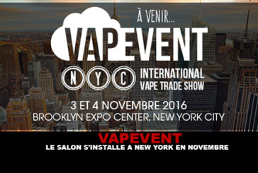 VAPEVENT: The show moves to New York in November!