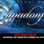 ראיון: Vapadonf, פורום שאין כמוהו!
