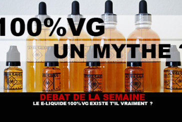 DEBATE: Does 100% VG e-liquid really exist?