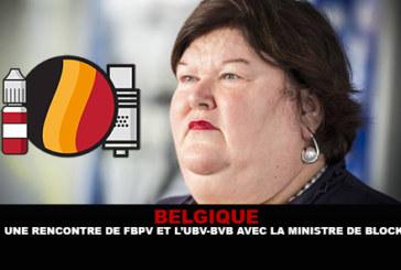 BELGIO: un incontro tra FBPV e UBV-BDB con il ministro De Block