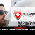 CANADA: The Vape Association of Canada in Superior Court.