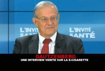 DAUTZENBERG: A truthful interview about the e-cigarette!