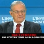 DAUTZENBERG: Μια ειλικρινής συνέντευξη για το ηλεκτρονικό τσιγάρο!