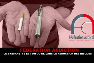 FFA : La e-cigarette est un outil dans la réduction des risques.