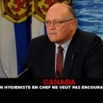 CANADA : Un médecin hygiéniste en chef ne veut pas encourager la e-cigarette !