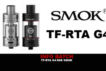 INFORMAZIONI SUL BATCH: TF-RTA G4 di SmokTech