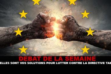 DEBATTE: Was sind Ihre Lösungen gegen die Tabakrichtlinie?