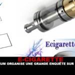 E-CIGARETTE: פורום מארגן חקירה גדולה על vape.