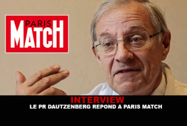 INTERVIEW: Professor Dautzenberg answers Paris Match.