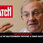 ראיון: פרופסור Dautzenberg תשובות פריז התאמה.