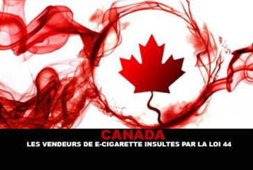 קנדה: E- סיגריה המוכרים נעלב על ידי החוק 44.