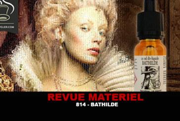 REVUE : BATHILDE (GAMME HISTOIRE D'E-LIQUIDES) PAR 814