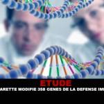 ETUDE : La e-cigarette modifie 358 gènes de la défense immunitaire.