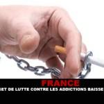 צרפת: תקציב להילחם נגד התמכרויות על ידי 47%