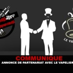 הודעה לעיתונות: הודעת שותפות עם Le Vapelier