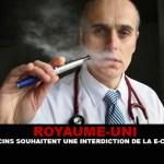 הממלכה המאוחדת: רופאים רוצים איסור על סיגריות אלקטרוניות.
