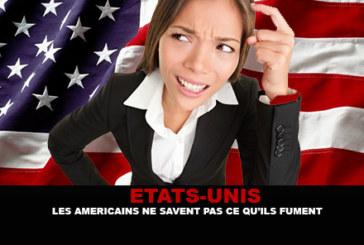 """ארה""""ב: האמריקאים לא יודעים מה הם מעשנים."""